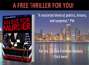 Get a free copy of AN EYE FOR MURDER when you subscribe to Libby's newsletter!