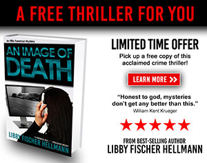 Get a free copy of AN IMAGE OF DEATH when you subscribe to Libby's newsletter!
