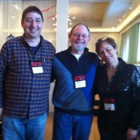 Lee Goldberg, Kent Krueger, and Libby, Love is Murder, 2013