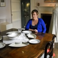 Dropped in for tea at Jane Austen's home in the UK, September 2012