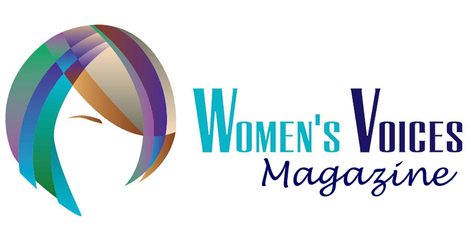 Woman Magazine Logo Women's Voices Magazine is