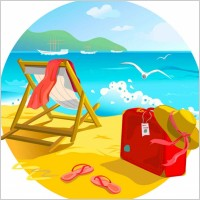 summer_beach_vector_background_278610