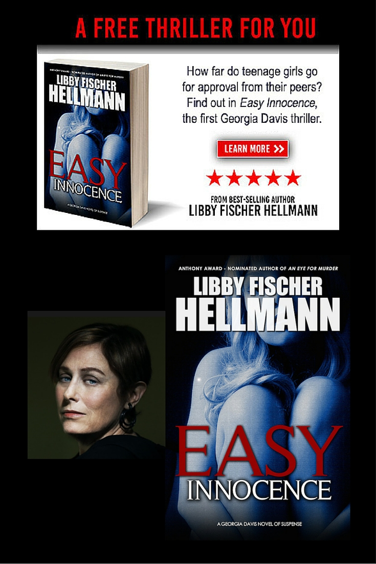 Free thriller novel 'Easy Innocence' by Libby Fischer Hellmann
