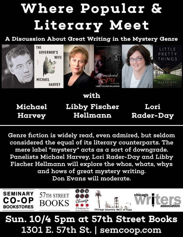 A discussion about great mystery writing