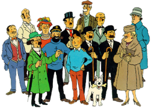 Tintin-mainSupportingCharacters