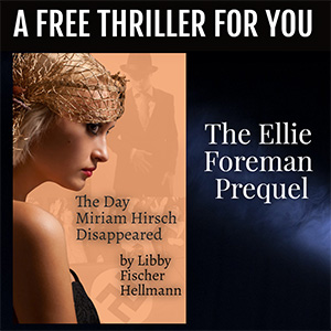 Get a free thriller when you subscribe to Libby's newsletter!